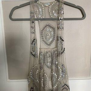Anthropologie embellished vest